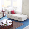 White Curved Arm Pillow Couch Sectional Sofa