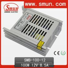 Fuente de alimentación delgada / SMPS delgada de la transferencia de 100W 12V8.5A con el CE RoHS aprobado