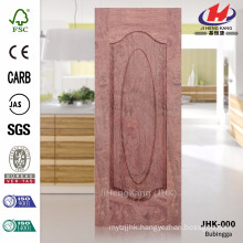 JHK-000 Best Natural Bubingga Vener Suppiler Living Room HDF Door Materail Sheet