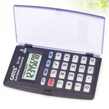 8 Digits Electronic Calculator Button Cell Battery Power Promotional Pocket Calculator