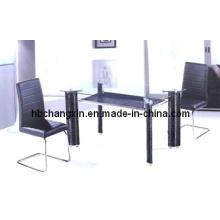 Novo Design moderno quente vender a mesa de jantar de vidro