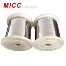 MICC oximdic color 3 * 0.3mm Cr20Ni80 cable de resistencia al calor