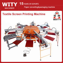 Multi-color Automatic Textile Screen Printing Machine