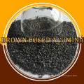 High quality high hardness top grade factory price brown fused alumina for refractory abrasive material