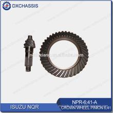 Pinhão genuíno da roda de coroa de NQR 700P 6:41 NPR-6: 41-A