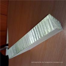 Mühle Finish Aluminium Farbe Wabenplatten für kommerzielle Gebäude Dekoration