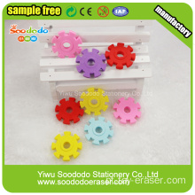 Snowflake Shaped Eraser, item de borracha criativo