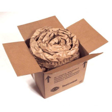 Reusable Kraft Paper Cushion Pressed Protective Edge Shape Recyclable Paper Cushion