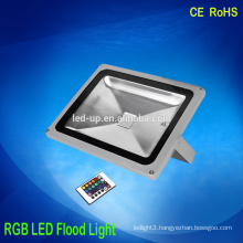 Hot sale garden using 50W rgb Led Flood Light with remote control