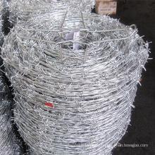 Popular HDP galvanized barbed wire