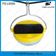 Lâmpada solar flexível do sensor de movimento do uso com a bateria 500mAh