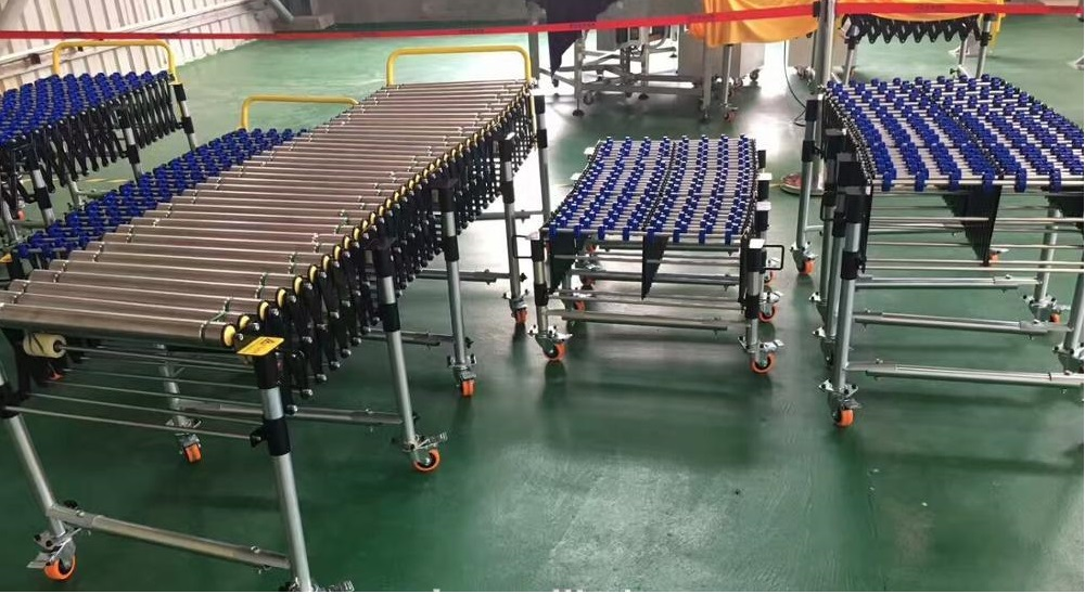 portable roller conveyors