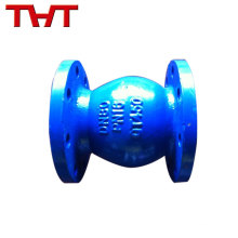 Flanged ends quality assured normal open DN50-DN600 pvc ball float check valve