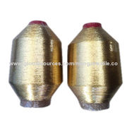 MX-type metallic yarn, golden color, 12 microns