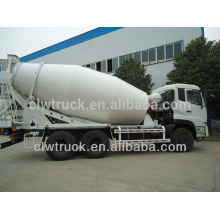 10-15M3 Dongfeng ready mix concrete trucks, 6x4 factory price mixer truck