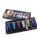 Body Glitter Gel Kit Gesichtsfarbe Glitzerleim