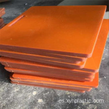 Componente del equipo Hard Black / Orange Bakelite Plate