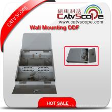 Boîte de distribution de montage de mur de câble de fibre de Csp-Zf 12coptical / ODF