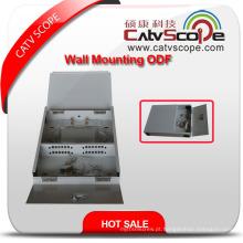 Caixa de distribuição do montagem da parede do cabo da fibra de Csp-Zf 12coptical / ODF