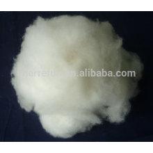 Inner Mongolian fine dehaired 100% pure 15.5mic 38mm white cashmere fiber