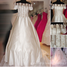 Vestido de noiva de estilo popular c130