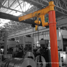 10t hot sales new design electric hoist jib crane with best price