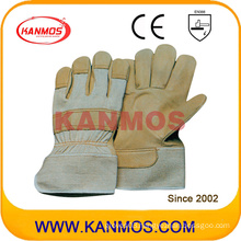 Industrial Safety Cowhide Grain Leather Work Gloves (12001)