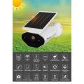 Câmera IP sem fio alimentada por bateria solar