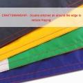 Drapeaux de bannière nationale Dominicana 100% polyester en gros