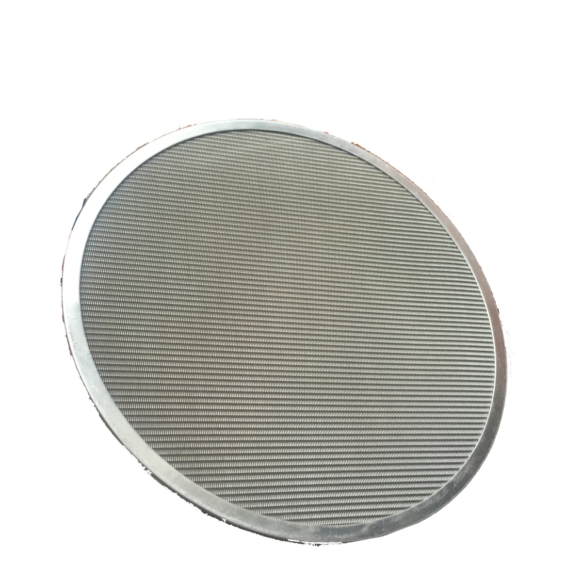 seamless cover frame stainless steel filter disc (2)