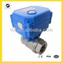 "Full flow SS304 1/2"" electric motor control valve with NSF61 certification for north America drinking water project"