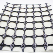composite pp biaxial geogrid with nonwoven geotextile for filtration properties