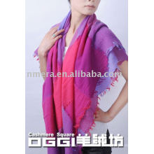 Bufanda / mantón de moda de las lanas del 100%