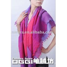 100% lã moda cachecol / xaile