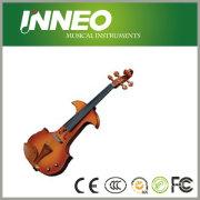 Handmade Solid Wood Electric Violin Musical Instrument (YNMVE003)