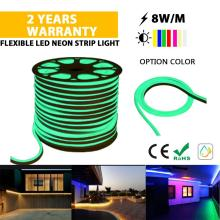High quality LED Neon rope light green color