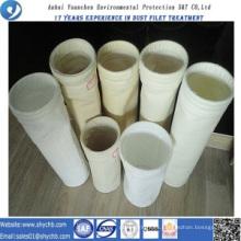 Bolsa de filtro acrílico a prueba de agua y aceite para bolsa de recogida de polvo