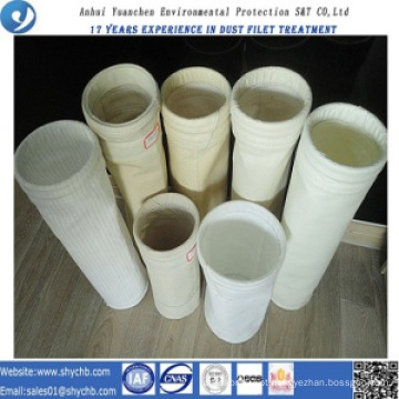 Saco de filtro acrílico da prova da água e de óleo para o saco de coleção da poeira