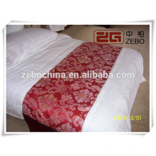 Super Quality Wholesale Bed Runner/ Bed Scarf/ Bed Tail Towel