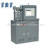 T-BOTA TBTCTM-300AS 300KN Control Servocontrol hidráulico Máquina de prueba de compresión de cubos de hormigón