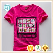 Enfants coréens vêtements en gros coton enfants t shirt en gros coton enfants t shirt en gros coton enfants t shirt