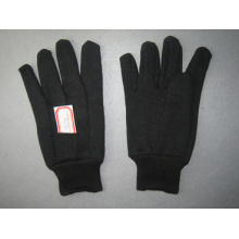 10oz Brown Jersey Liner Cotton Work Glove (2101)
