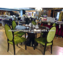 Conjuntos de mesa e cadeira de madeira D1017