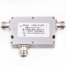 venta caliente bajo pim din 850-869 mhz coaxial ethernet optical rf circulator isolator