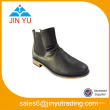 Leather Lower Mature Boots