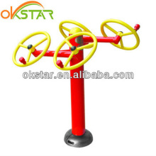 Outdoor Exercise Workout Equipment with Electro-static Powder Coating Taichi Spinner ST-T01X