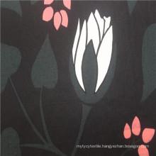60*60 hotsale black 100%cotton printed poplin fabric