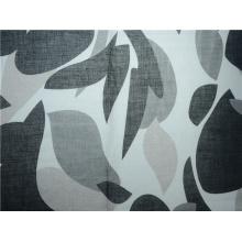Ramie e tecido estampado de algodão (DSC-4166)