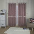 2016 new arrival high taste oval design 100% Polyester Linen Like Jacquard Curtain