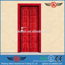 JK-MW9005 melamina mdf porta de madeira / mdf flush porta de madeira maciça